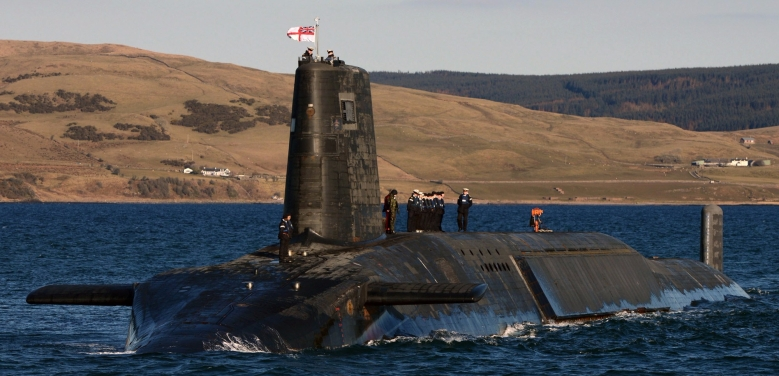 Vanguard Class Submarine