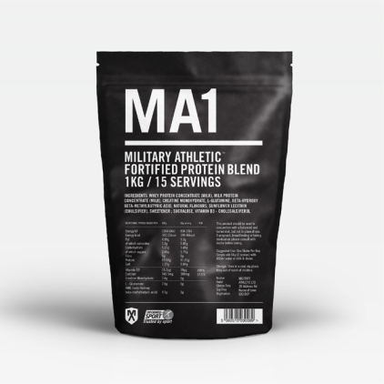 MILITARY ATHLETIC FORTIFIED PROTEIN BLEND 1KG / 15 SERVINGS