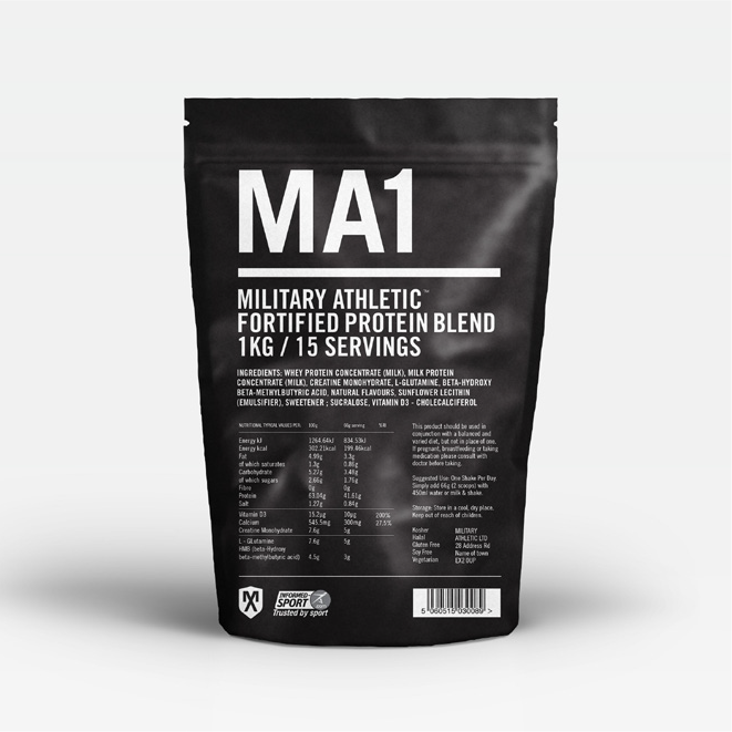 Fortified Protein Blend