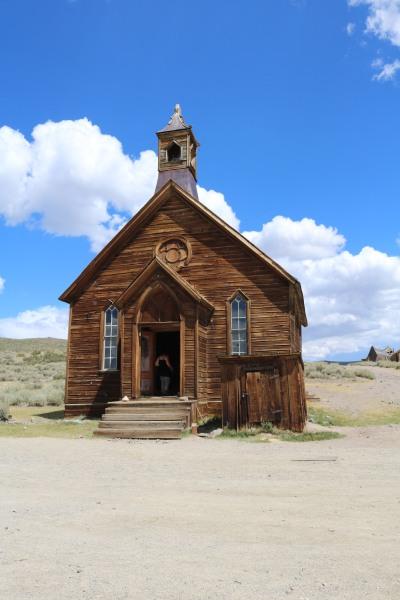 Bodie's church.