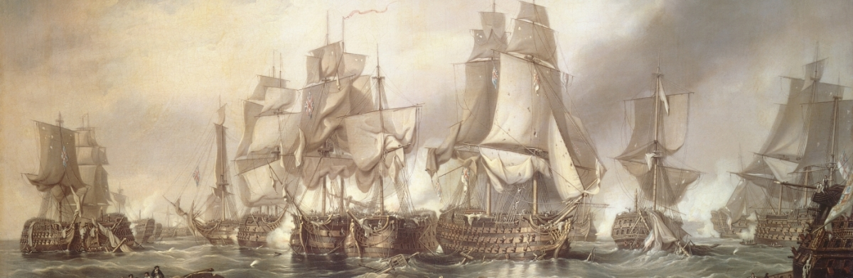Battle of Trafalgar : England expects that every man will do his duty